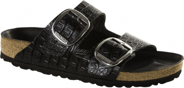 Birkenstock Arizona Big Buckle Embossed Leather Damen Sandalen Freizeit