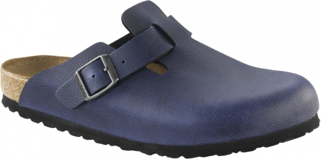 Birkenstock Boston pull up navy
