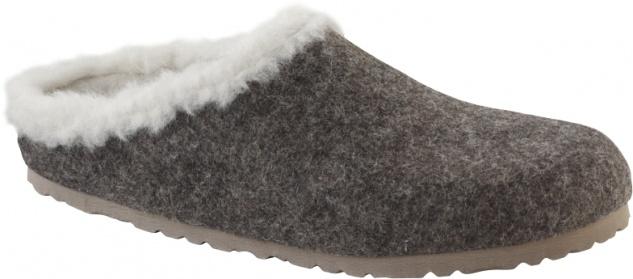 Birkenstock Clog Kaprun Damen - Herren Clog Birkenstock happy lamb Wollfilz 489139