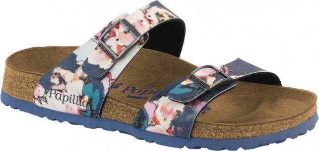 Papillio Sydney Damen Pantolette Painted Birko-Flor Bloom Birko-Flor Painted a9f445