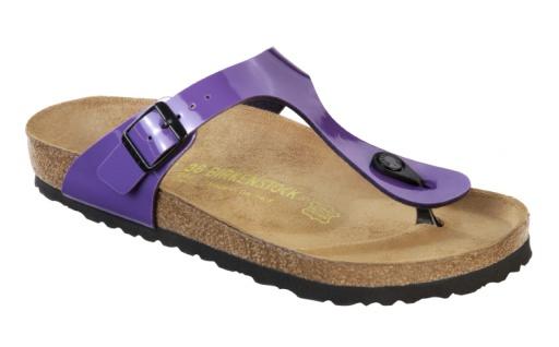 Birkenstock Gizeh blue lack Günstige und langlebige Schuhe