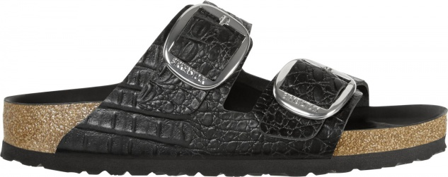 Birkenstock Arizona Big Buckle Embossed Leather Damen Sandalen Freizeit - Vorschau 2