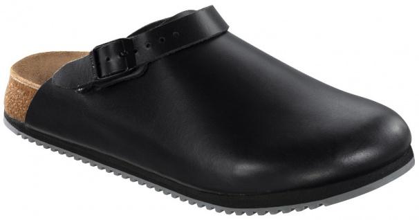 Birkenstock PHILADELPHIA SL Damen Herren Clog schwarz Leder