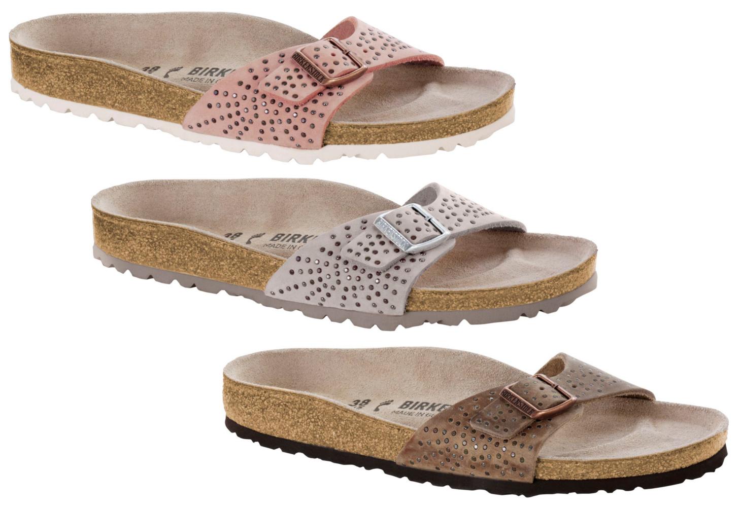 separation shoes fae2e 3f8c8 Nubukleder Birkenstock Madrid Pantolette Mit Rivets Crafted ...