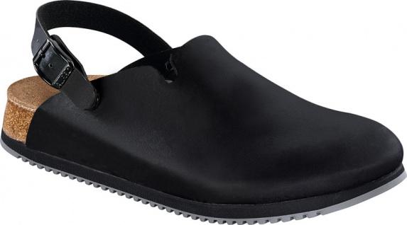 Birkenstock PHILADELPHIA schwarz SL Damen Herren Clog schwarz PHILADELPHIA Leder f5539f