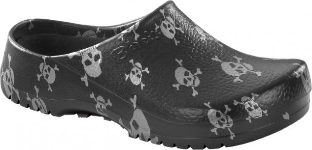 Birkenstock Super - Birki schwarz 068611 Clog Damen , Herren schwarz Birki skull ecf1f7