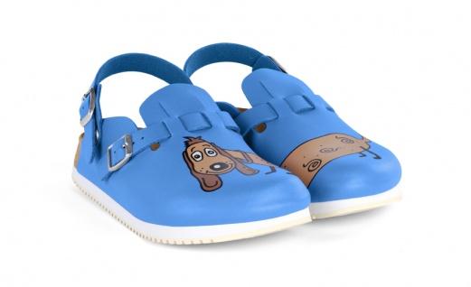 Birkenstock KAY SL dog blue blue blue Birko-Flor c50089