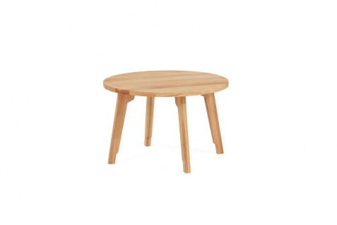 Couchtisch Tisch PIETRO Wildeiche Massivholz 60x60 cm