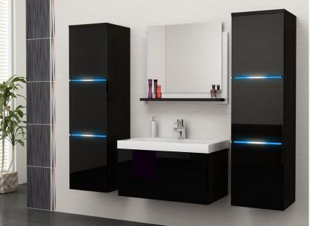 Badezimmermöbel schwarz  Badmöbel Schwarz Hochglanz online kaufen bei Yatego