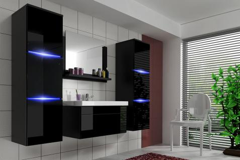 badm bel schwarz hochglanz online kaufen bei yatego. Black Bedroom Furniture Sets. Home Design Ideas