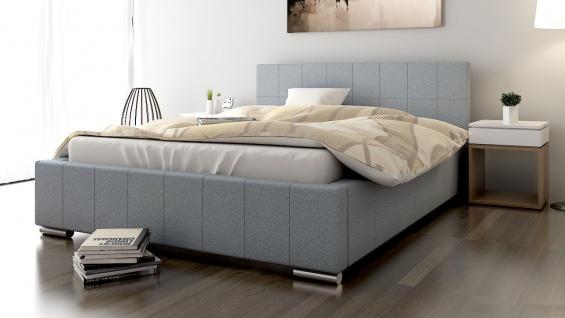 Polsterbett Bett Doppelbett GIORGIO 160x200cm inkl.Bettkasten - Vorschau 1
