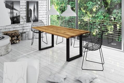 Esstisch Tisch IRJA Wildeiche geölt 220x100 cm