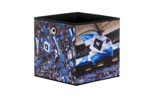Faltbox Box - HSV / Nr.2 - 32 x 32 cm - Vorschau 1