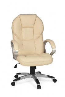 Drehstuhl Bürostuhl Chefsessel FERROL -Beige