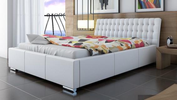 Polsterbett Bett Doppelbett DIVO XS 180x200cm inkl.Lattenrost