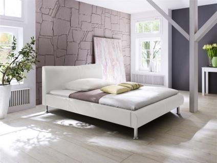 Polsterbett Bett Doppelbett Tagesbett - SANTOS - 180x200 cm Weiss