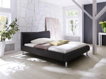 Polsterbett Bett Doppelbett Tagesbett - SANTOS - 160x200 cm Braun
