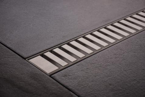 Duschrinne Dusch Badablauf Bodenablaufrinne NR.3 - 70 cm/ Edelstahl
