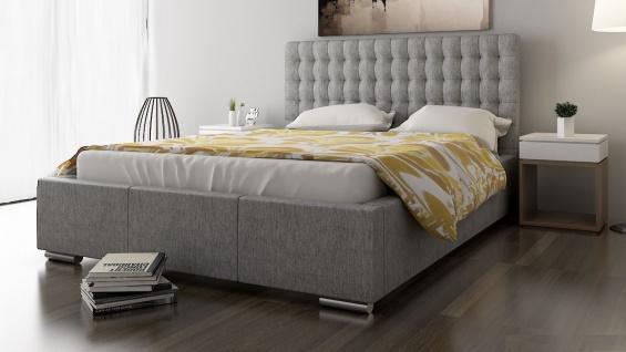 Polsterbett Bett Doppelbett DAMASO L 180x200cm inkl.Lattenrost