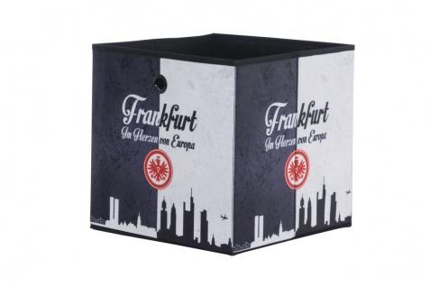 Faltbox Box - Eintracht Frankfurt / Nr.3 - 32 x 32 cm / 3er Set