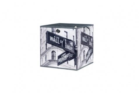 Faltbox Box City - Broadway -32 x 32 cm / 3er Set - City Look