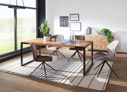 Esszimmertisch Tisch PRIA 190x100x77 cm Massivholz Sheesham