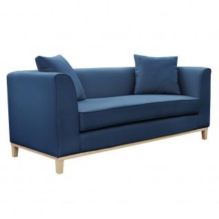 Polstersofa Sofa 2-Sitzer ALBA Massivholz Buche