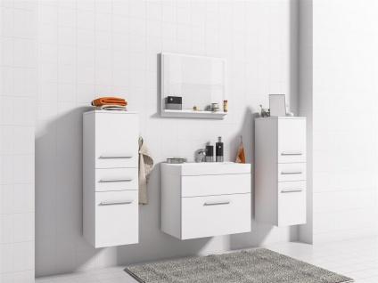 Badmöbel Set 5-Tlg Weiss matt LIVO XS inkl.Waschtisch - Vorschau 2