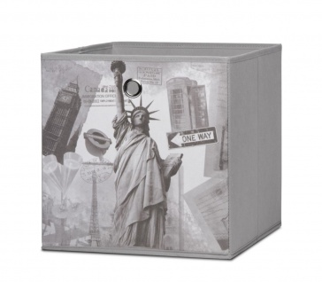 Faltbox Box City - City -32 x 32 cm / 3er Set - City Look