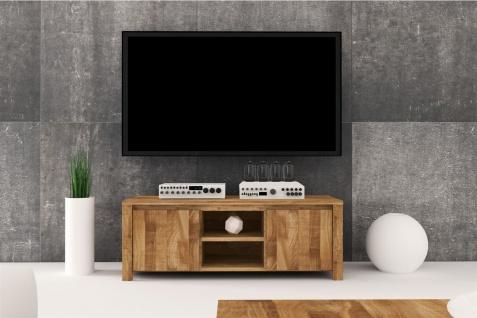 Lowboard TV-Schrank MAISON Kernbuche massiv geölt 115x43x45 cm