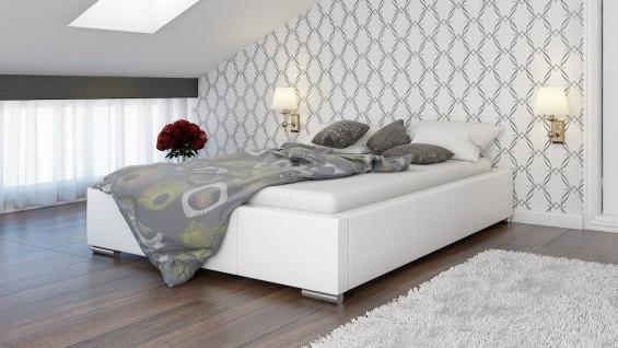 Polsterbett Bett Doppelbett GIUSTO 200x200cm inkl.Bettkasten
