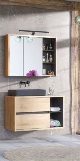 Badmöbel Set 2-tlg Badezimmerset MARINA ohne Waschtisch