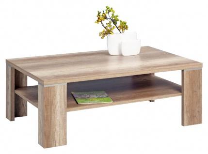 Couchtisch Tisch - London -110x70 cm Wildeiche Trüfel