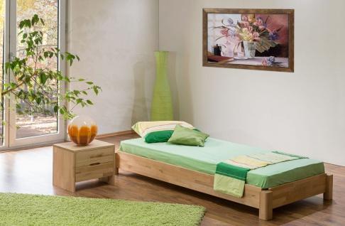 Gästebett Stapelbett Bett - MOBY - 90x200 Buche massiv inkl. Rollrost - Vorschau 3