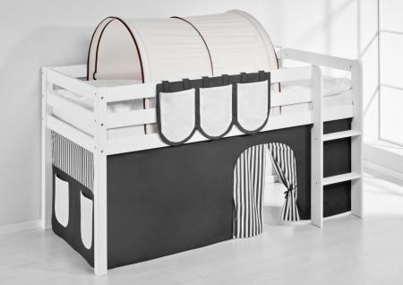 Tunnel Braun Beige - für Hochbett. Spielbett und Etagenbett