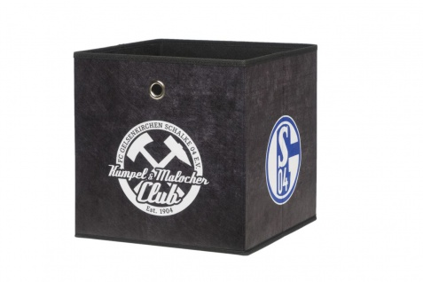 Faltbox Box - FC Schalke / Nr.3 - 32 x 32 cm / 3er Set - Vorschau 4
