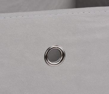 Faltbox Box Stoffbox- Delta - Größe: 32 x 32 cm - Schlamm - Vorschau 3