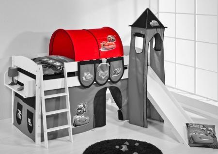 Tunnel Cars - für Hochbett. Spielbett und Etagenbett