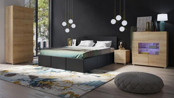 komplett schlafzimmer eiche günstig online kaufen - Yatego
