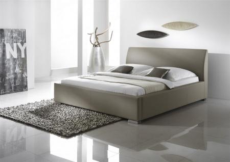 Polsterbett Bett Doppelbett Tagesbett - COSIMO 2 - 180x200 cm Muddy