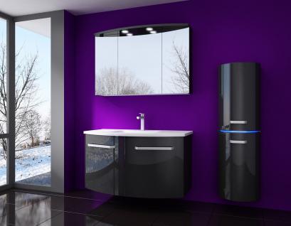 badm bel schwarz hochglanz online kaufen bei yatego. Black Bedroom Furniture Sets. Home Design Ideas