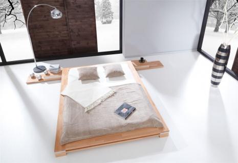 Massivholzbett Bett Schlafzimmerbett TOKYO Eiche massiv 180x200 cm - Vorschau 3