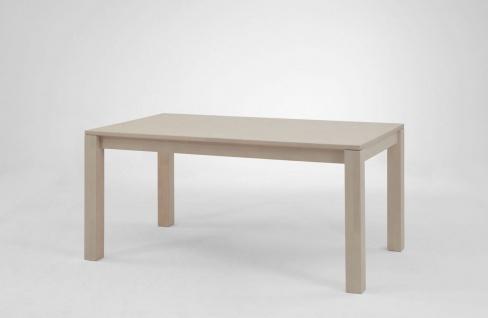 Esstisch Funktionstisch ELDA Tisch 140/220 x 80 Wildeiche massiv