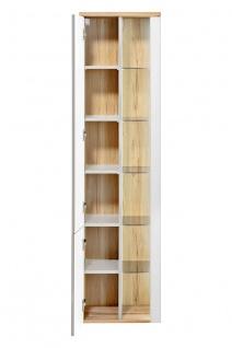 Badmöbel Set 3-tlg Badezimmerset VARESE Weiss inkl.Waschtisch 120 cm - Vorschau 4