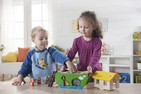 Holzspielzeug - Arche Noah zum Sortieren und Stecken - Vorschau 3