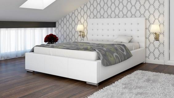 Polsterbett Bett Doppelbett MANILO L 180x200cm inkl.Lattenrost