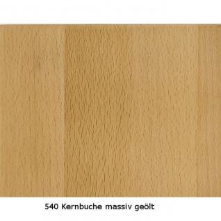 Couchtisch Tisch MALTE Buche vollmassiv / Echtholz 80 x 80 cm - Vorschau 3