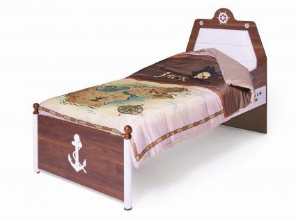 Kinderbettwäsche Bettwäsche 135 x 200 cm 2 tlg. / Pirat