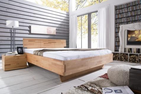 Massivholzbett Schlafzimmerbett - ELO - Bett Kernbuche 180x200 cm