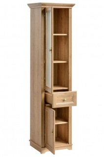 Badmöbel Set 5-tlg Badezimmerset MADERA Eiche inkl.Waschtisch 80 cm - Vorschau 4